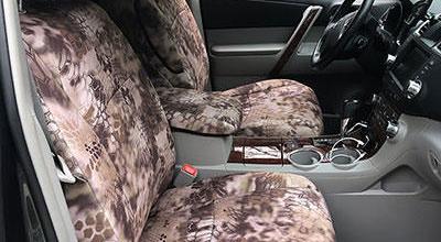 Kryptek Seat Covers