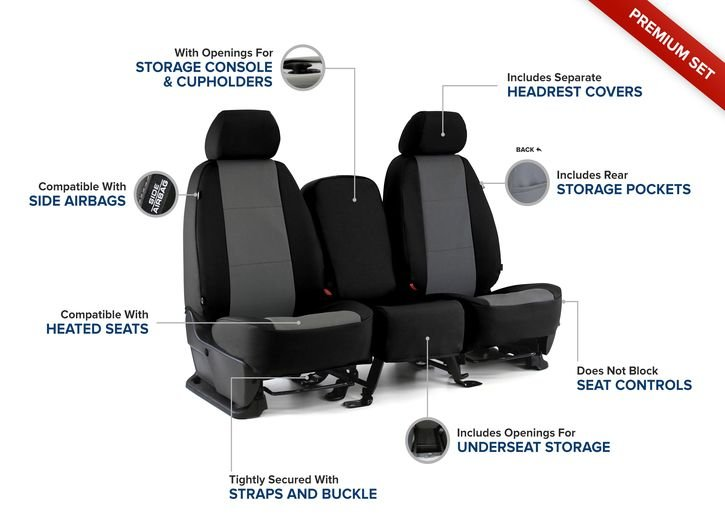 CLIMATE COVERS HEAVY DUTY 600 DENIER WATERPROOF SEAT COVERS