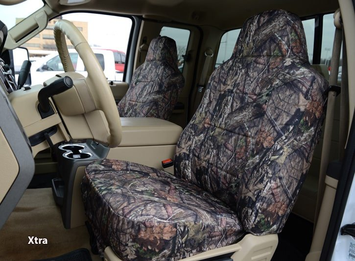 Installed Luxury Realtree Seat Covers XtraLand Rover