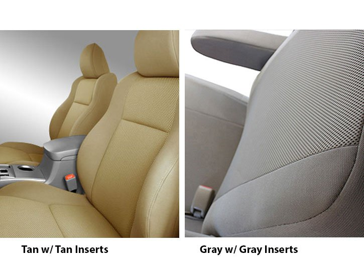 Installed Seat Covers for Heated Seats Super Mesh GrayChevy Impala