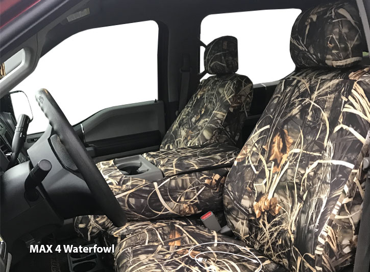 Installed Realtree MAX 4 WaterfowlDodge