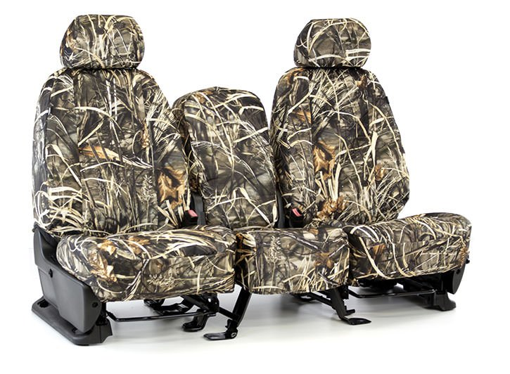 Installed Realtree Seat Covers 40/20/40 MAX-5